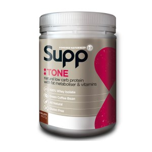 Supp Tone - Womens Fat Metabolising Low Carb Protein & Vitamins - 400g - 11 Servings